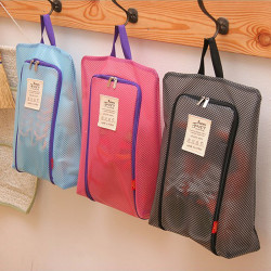 Travel Shoe Bag Waterproof Visible Polyester Storage  Bag