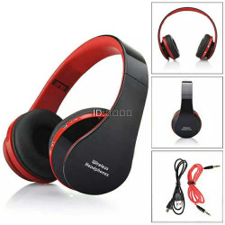 Wireless Bluetooth Stereo Foldable Headset Hands Headphones
