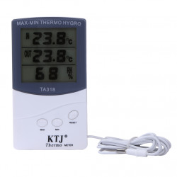 Indoor Outdoor Weather  Station Electronic Digital Hygrometer