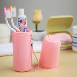Candy Color Toothbrush Holder Box Toothbrush Toothpaste