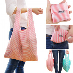 Shopping  Bag Canvas Supermaket Foldable Cloth Big Portable